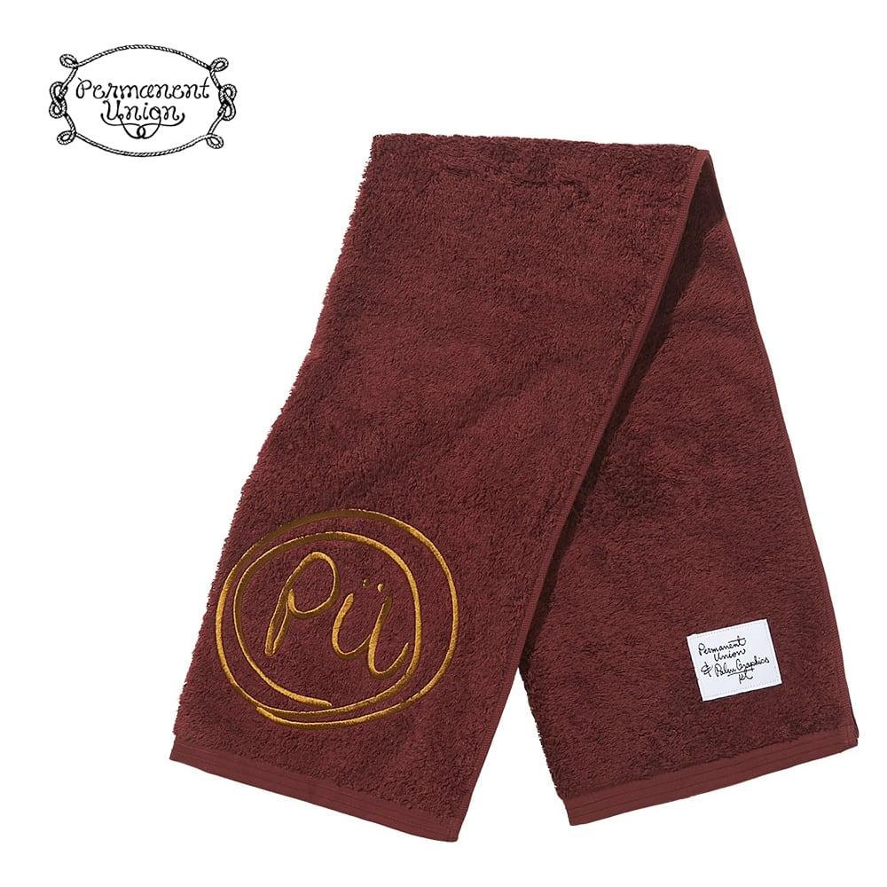PALM GRAPHICS × Permanent Union   HOTMAN HAND TOWEL