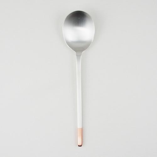 工房アイザワ 純銅洋食器 デザートスプーン 銀仕上
