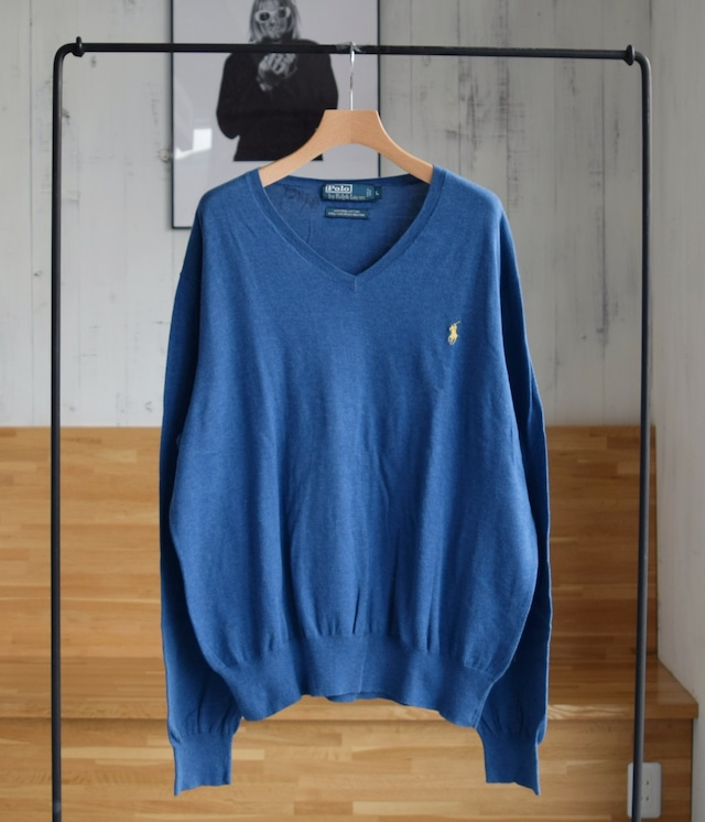USED POLO RALPH LAUREN COTTON KNIT
