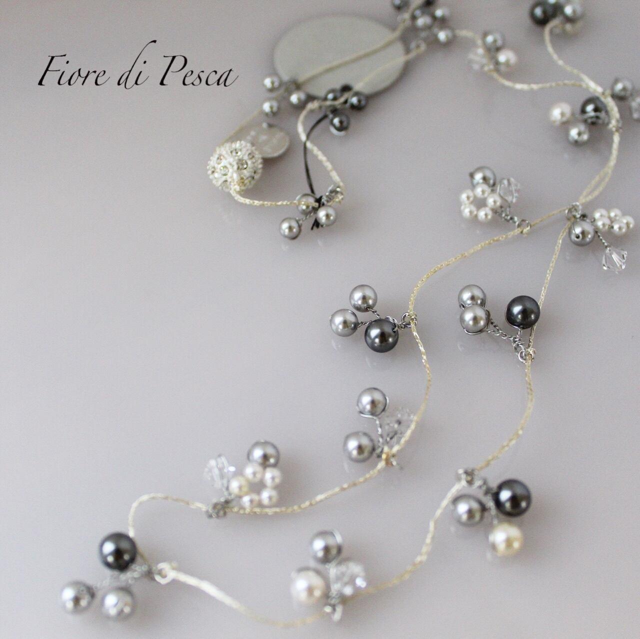 Mariage Necklace(silver)
