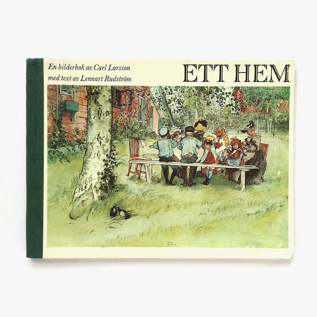 カール・ラーション「Ett hem - En bilderbok av Carl Larsson(わが家:カールラーションによる絵本)」《1984-01》