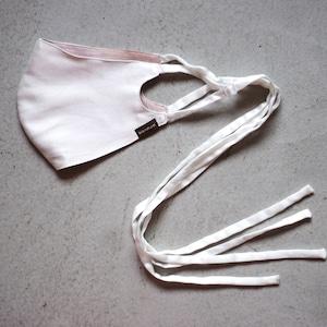 3層シルクマスク ロングリボンタイプ /カラー:ホワイト【bionatural】