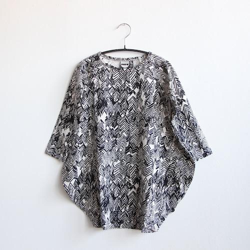 《PAPU 2020AW》ELLIPSE DRESS / DRAWING aop