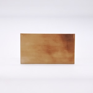 slim wallet tanned special oil