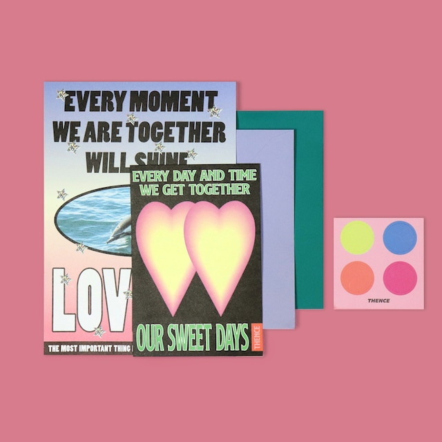 [C-03] 「LOVE YA」 レターセット