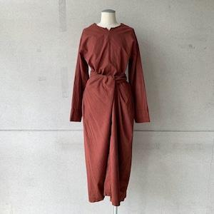 【COSMIC WONDER】Wrapped long sleeves dress /17238-2