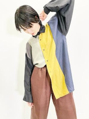 Vintage 5 Colors Silk Shirt