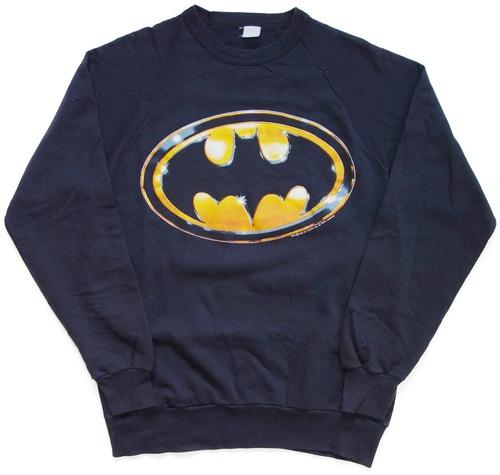 80年代 バットマン スウェット 【L】 | BATMAN ティム・バートン 映画 アメリカ ヴィンテージ 古着