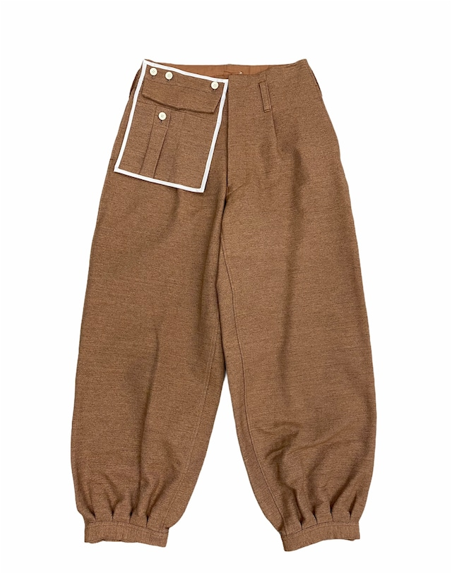 amachi. / Detachable Pocket Work Pants (Soil Brown)