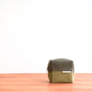 CANVAS BOX POUCH S / AM×MG