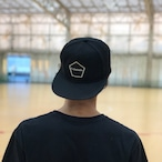 PENTAGON EMBLEM CAP (BLACK)