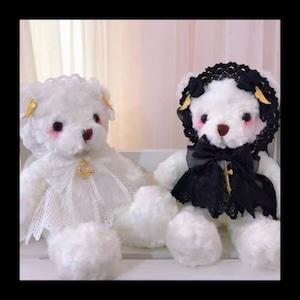 【お取り寄せ】天使と堕天使 テディベア ポシェット 2種