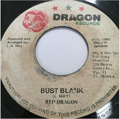 Red Dragon(レッドドラゴン) - Bust Blank【7'】