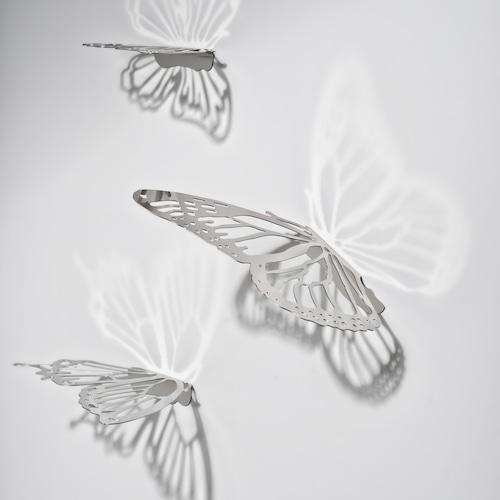 北欧雑貨【壁飾り】バタフタイ(蝶)
