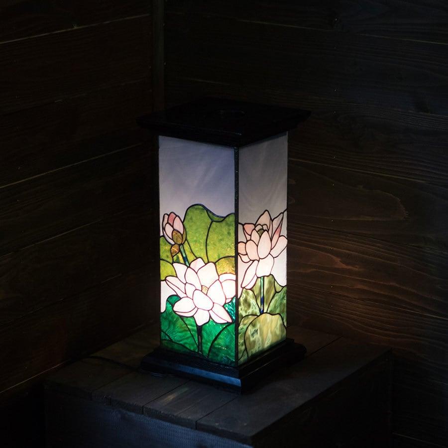 蓮池望(ステンドグラスの盆提灯) 01020402