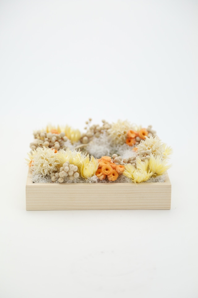 No.219 flower candle stand | gift box 5700 プリント無し