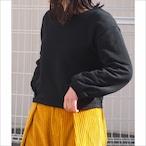 【hippiness】tuck longsleeve tops(sweat)/【ヒッピネス】タック ロングスリーブ トップス(スウェット)