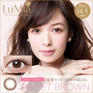 ルミア14.5 ワンデー(LuMia14.5 1DAY)《SWEET BROWN》スウィートブラウン[10枚入り]