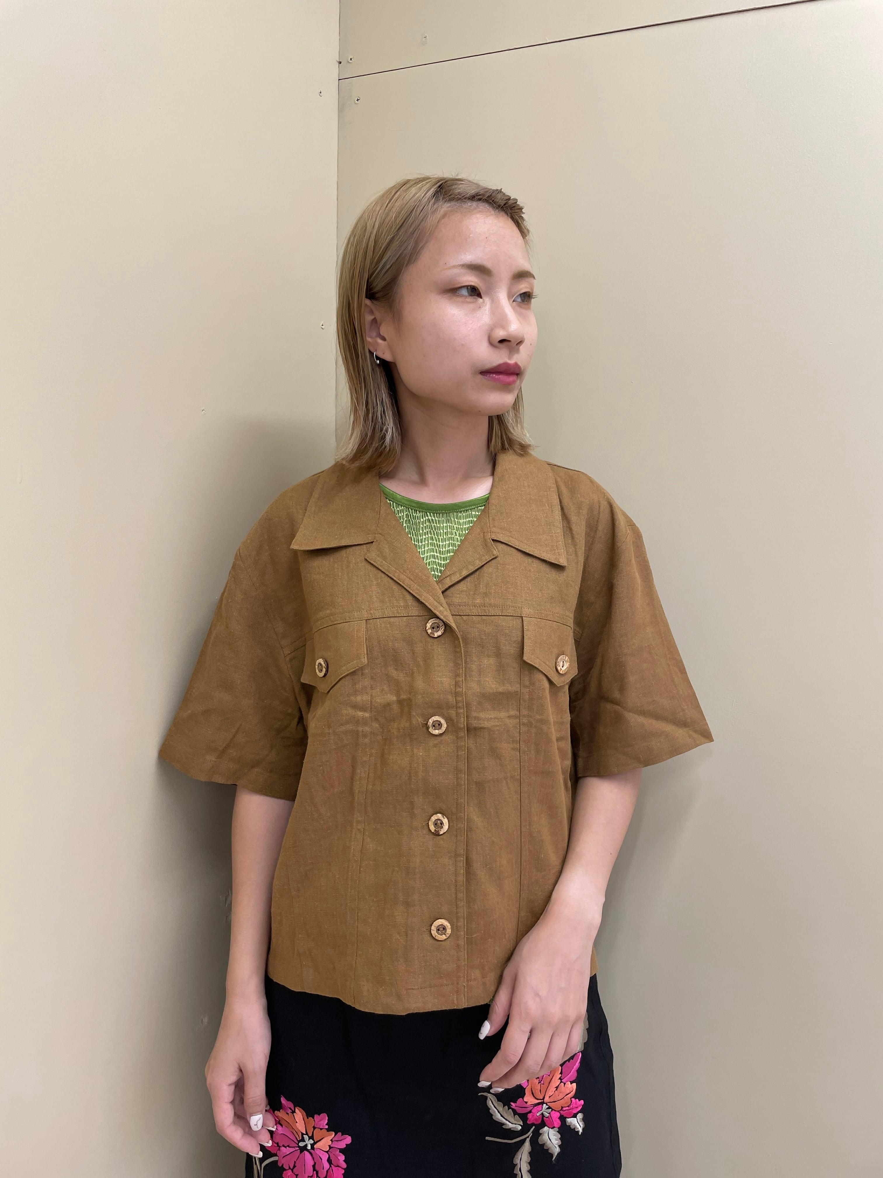 linen jacket / 7SSTP27-16