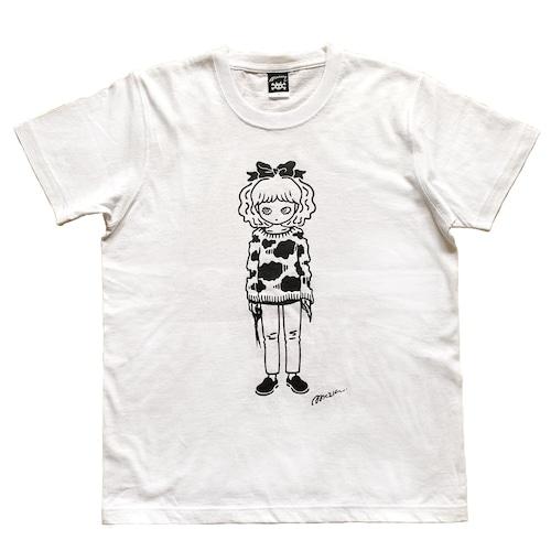 """ Easy thing "" Tシャツ ホワイト [ T-017]MIKAZUKI / ミカヅキ"