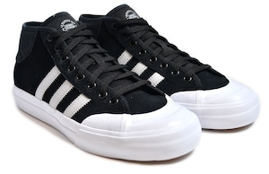 adidas Skateboarding / Matchcourt Mid / Skateshoes / Black-White / アディダス スケートボーディング / マッチコート