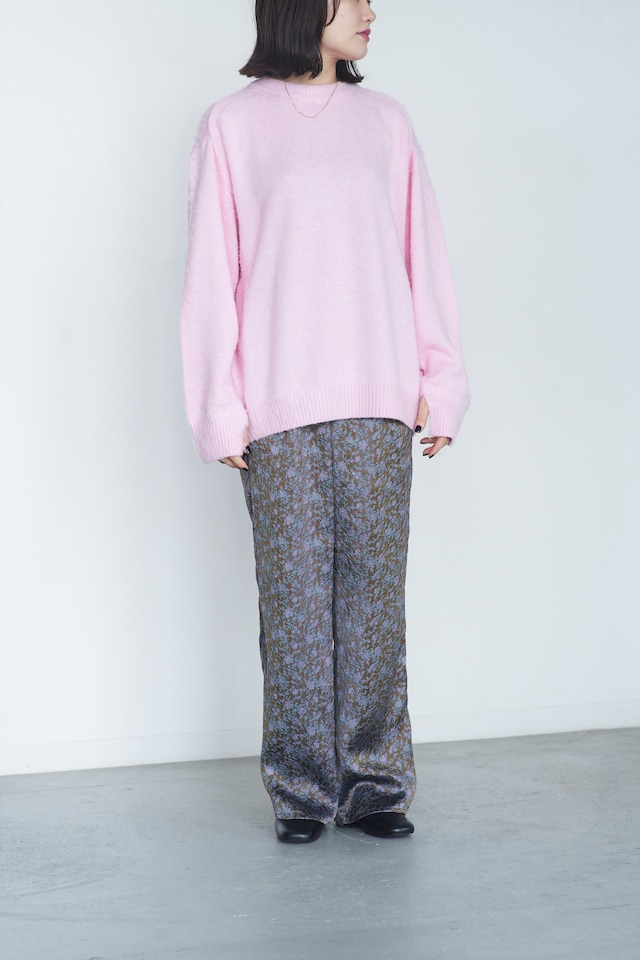 JANE SMITH NAPPING CREW NECK KNIT