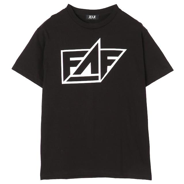 FAF Logo Tee - Black - メイン画像