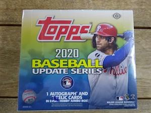 MLB 2020 TOPPS UPDATE SERIES JUMBO