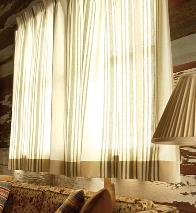 クラシックカラー カーテン  Oliveオリーブ301112 KA