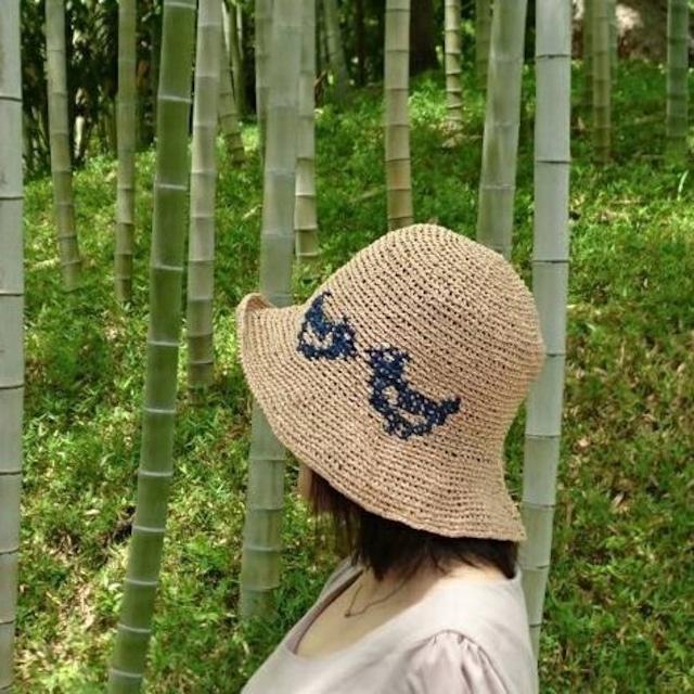 とりのぼうしの編み物キット byコリドーニッティング