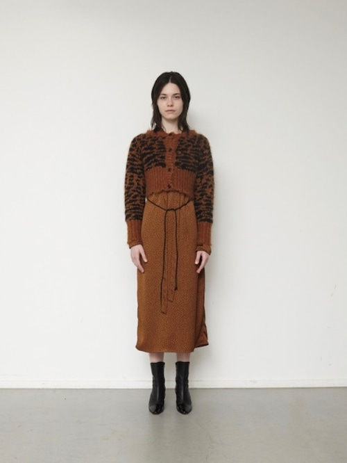 【ELIN】DOT BOW TIE DRESS