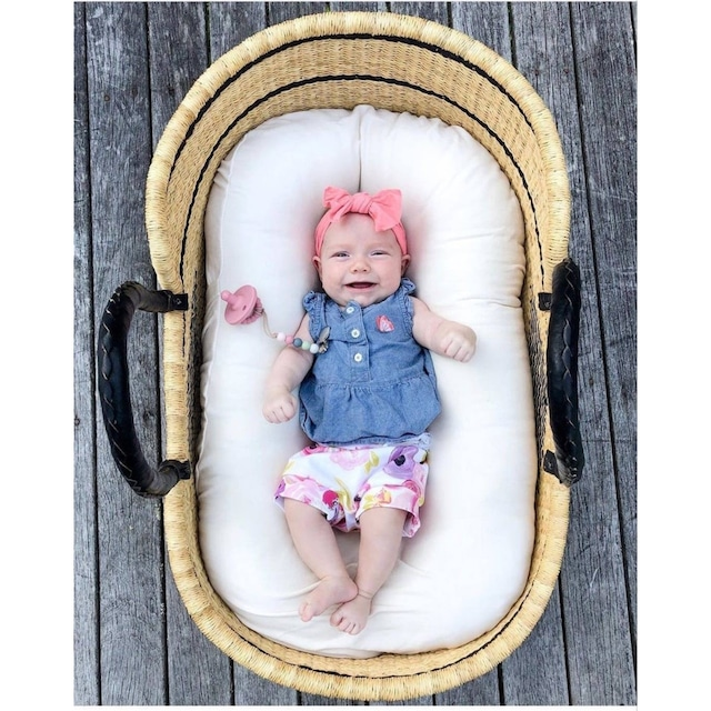 African basket for Baby / Moses Basket