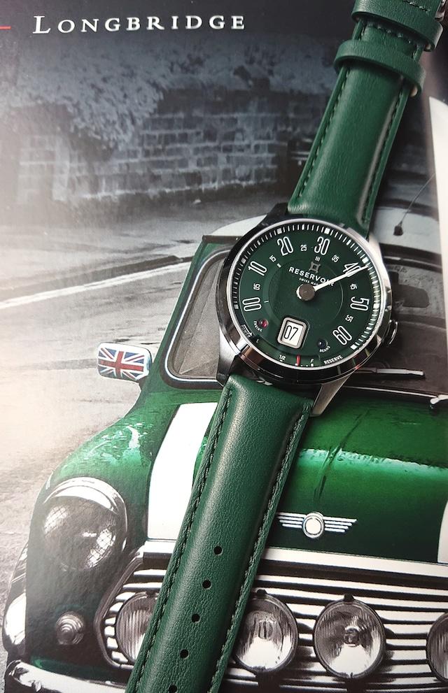【RESERVOR レゼルボワール】LONGBRIDGE BRITISH RACING ロングブリッジ ブリティッシュレーシング/RSV01.LB/130-62s/国内正規品 腕時計