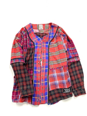 REMAKE   Baseball SHIRTS ネルシャツ【Shirts52】