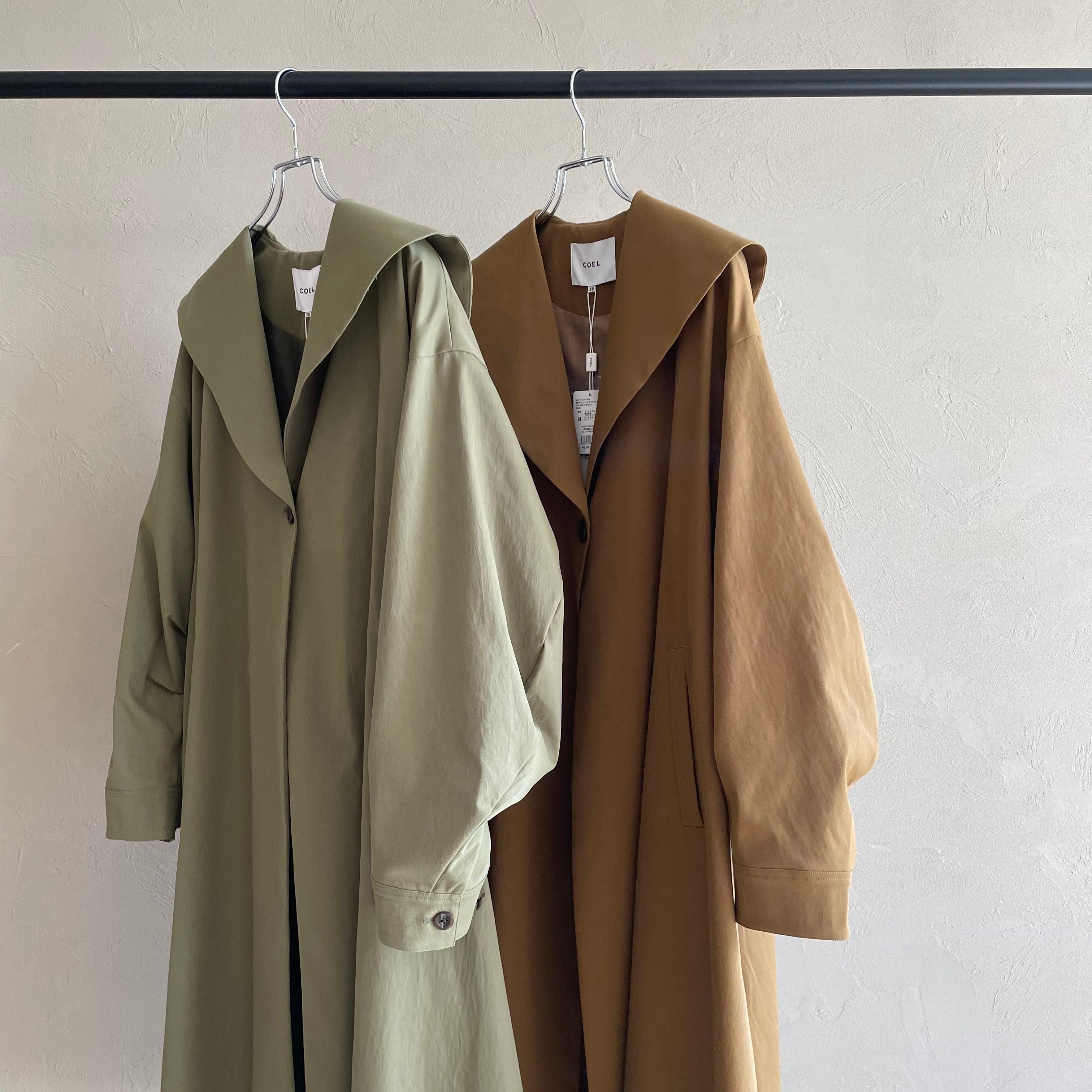 【 COEL 】- 181301008 - 衿ボリュームライトコート