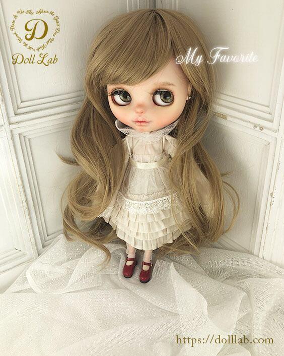プリンセスシフォン[12inch 髪ありブライス ]マロン  DWL009-A009-12in