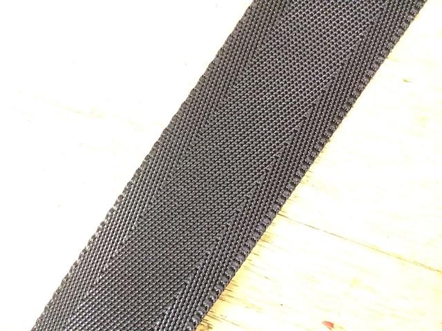 ナイロン シート織  38mm幅  1.3㎜厚 カラー(黒以外) 1m単位