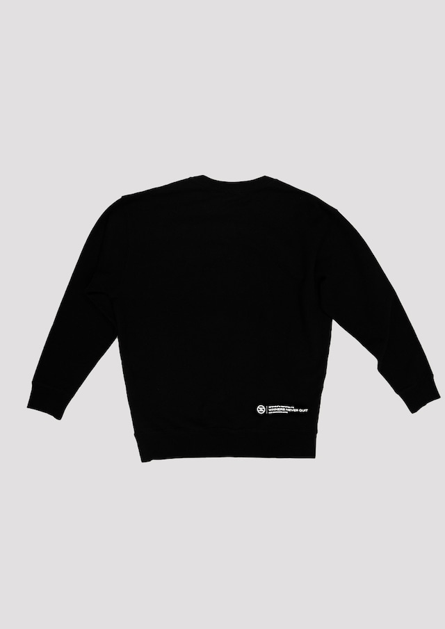 Sweatshirt : Black