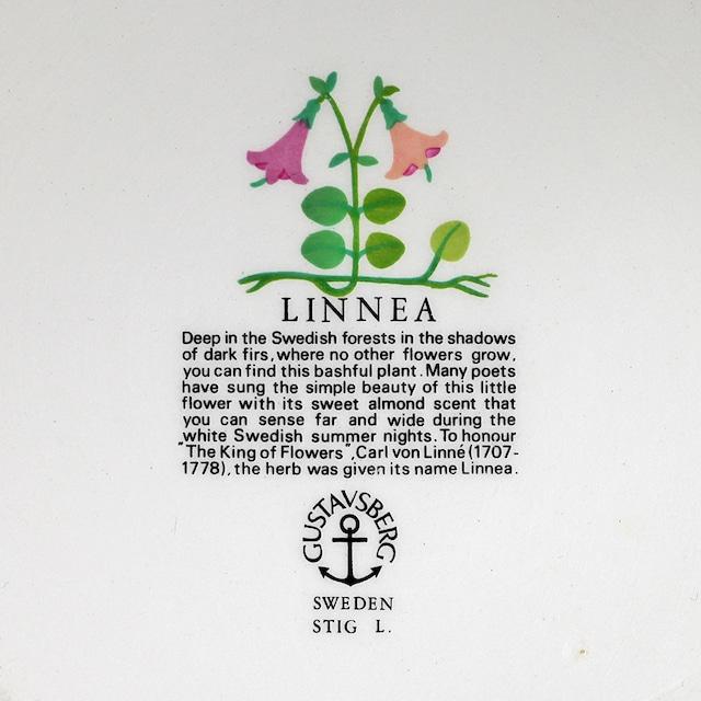 Gustavsberg グスタフスベリ Linnea リネア 150mmボウル 木蓋付 北欧ヴィンテージ