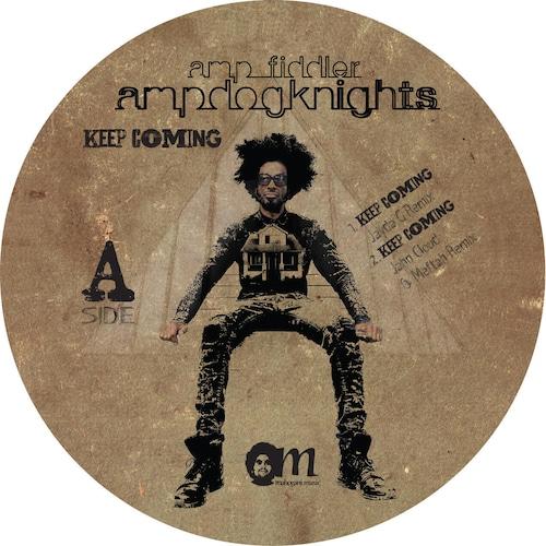"""【ラスト1/12""""】 AMP FIDDLER - KEEP COMING REMIXES"""