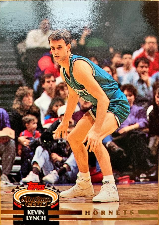 NBAカード 92-93TOPPS Kevin Lynch #187 HORNETS