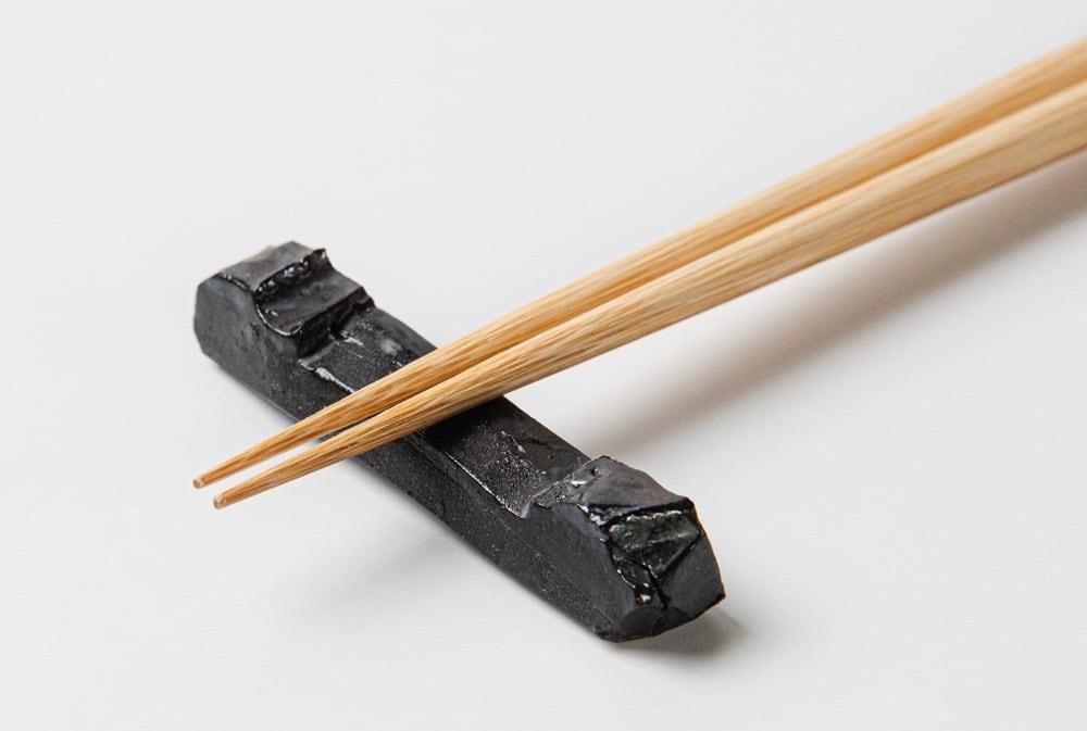 金属釉 箸置き