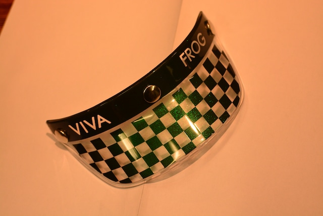 Frog-VIVA コラボ オリジナルペイント チェッカーマジョーラカラー カスタム