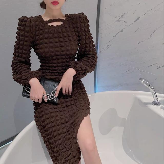 design brown dress