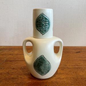 木の葉柄の冠水瓶