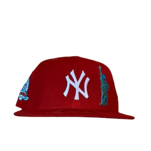 NEW ERA New York Yankees 27World Championships  59Fifty Fitted / Red×White (Mint Brim)