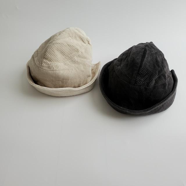 【即納】reversible corduroy hat〔リバーシブルコーデュロイハット〕 bellabambina