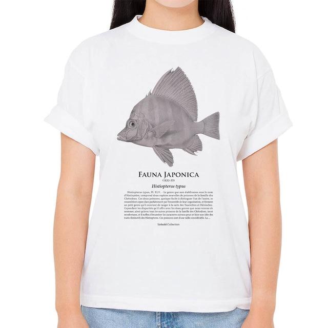【カワビシャ】シーボルトコレクション魚譜Tシャツ(高解像・昇華プリント)