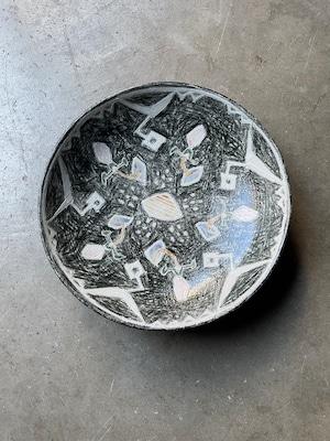 畑中圭介 パステルオリベ7寸鉢