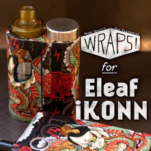 WRPAS! for Eleaf iKONN(RATA cap V2対応)